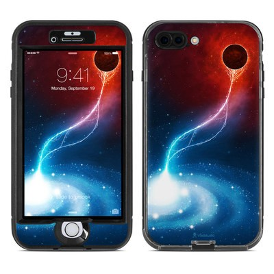 Lifeproof iPhone 7 Plus Nuud Case Skin - Black Hole