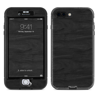 Lifeproof iPhone 7 Plus Nuud Case Skin - Black Woodgrain
