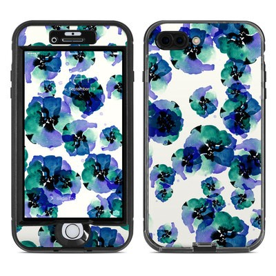 Lifeproof iPhone 7 Plus Nuud Case Skin - Blue Eye Flowers