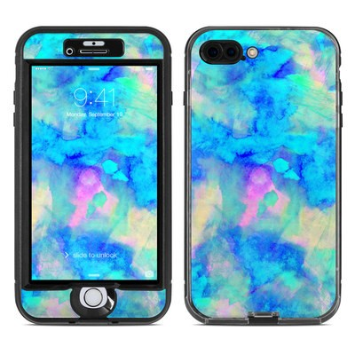 Lifeproof iPhone 7 Plus Nuud Case Skin - Electrify Ice Blue