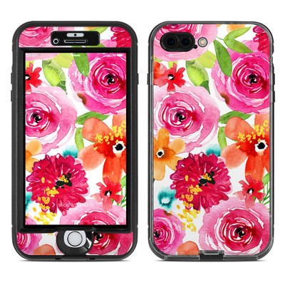 Lifeproof iPhone 7 Plus Nuud Case Skin - Floral Pop