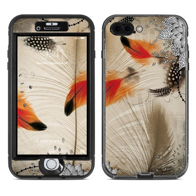 Lifeproof iPhone 7 Plus Nuud Case Skin - Feather Dance