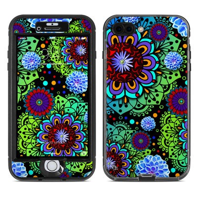 Lifeproof iPhone 7 Plus Nuud Case Skin - Funky Floratopia