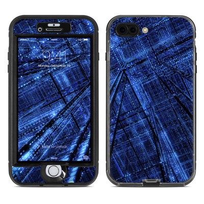 Lifeproof iPhone 7 Plus Nuud Case Skin - Grid