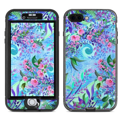 Lifeproof iPhone 7 Plus Nuud Case Skin - Lavender Flowers