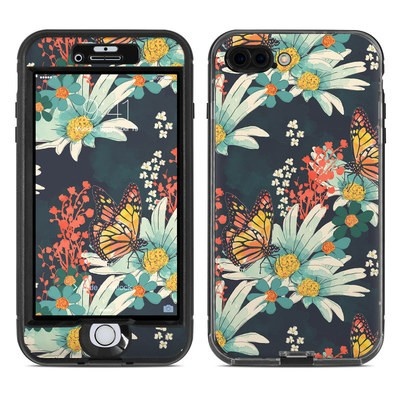 Lifeproof iPhone 7 Plus Nuud Case Skin - Monarch Grove