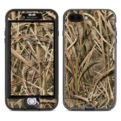 Lifeproof iPhone 7 Plus Nuud Case Skin - Shadow Grass Blades