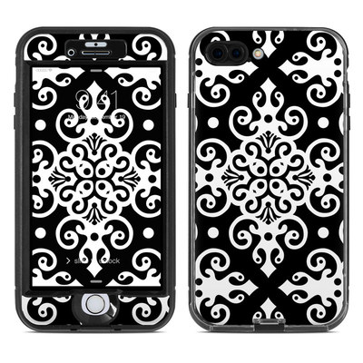 Lifeproof iPhone 7 Plus Nuud Case Skin - Noir