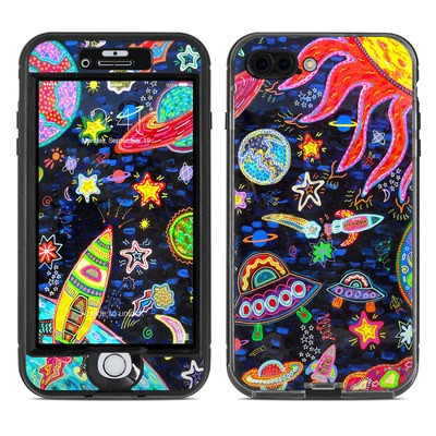 Lifeproof iPhone 7 Plus Nuud Case Skin - Out to Space