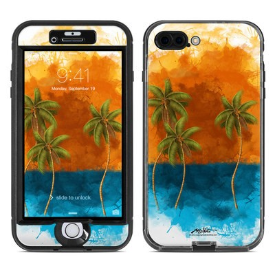Lifeproof iPhone 7 Plus Nuud Case Skin - Palm Trio