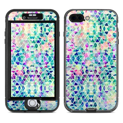 Lifeproof iPhone 7 Plus Nuud Case Skin - Pastel Triangle