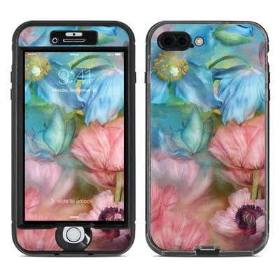 Lifeproof iPhone 7 Plus Nuud Case Skin - Poppy Garden