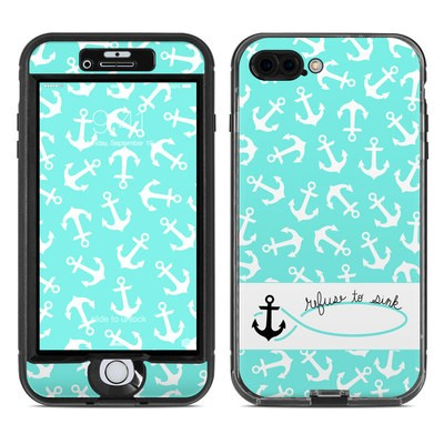 Lifeproof iPhone 7 Plus Nuud Case Skin - Refuse to Sink