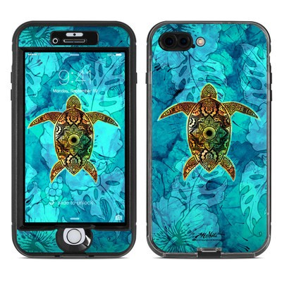 Lifeproof iPhone 7 Plus Nuud Case Skin - Sacred Honu