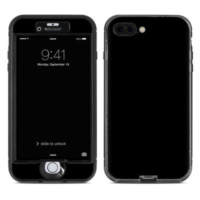 Lifeproof iPhone 7 Plus Nuud Case Skin - Solid State Black