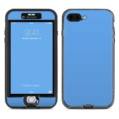 Lifeproof iPhone 7 Plus Nuud Case Skin - Solid State Blue