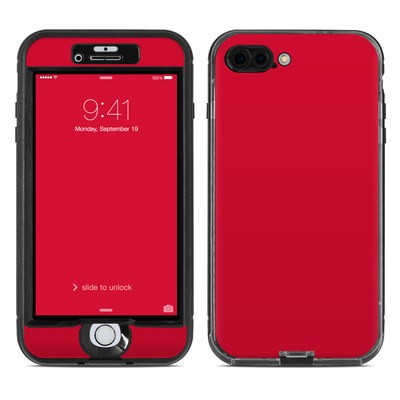 Lifeproof iPhone 7 Plus Nuud Case Skin - Solid State Red