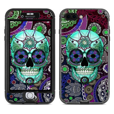 Lifeproof iPhone 7 Plus Nuud Case Skin - Sugar Skull Sombrero