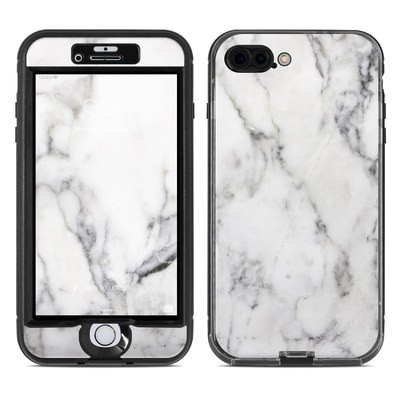 Lifeproof iPhone 7 Plus Nuud Case Skin - White Marble