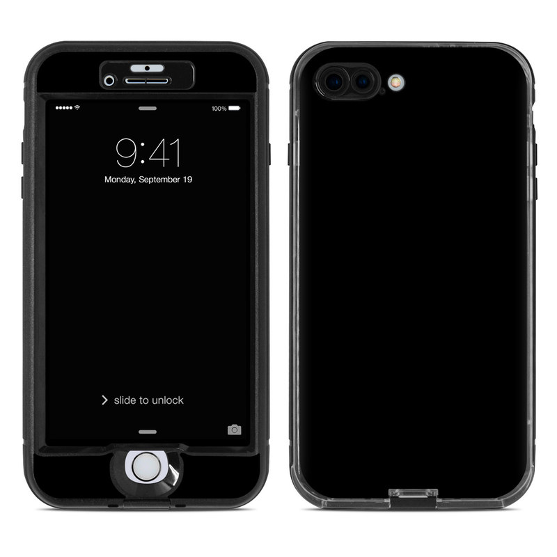 black iphone skin lifeproof iphone 7 plus nuud skin solid state black 4595