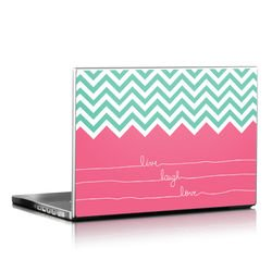Laptop Skin - Live Laugh Love