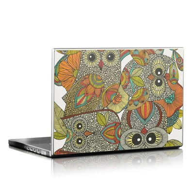 Laptop Skin - 4 owls