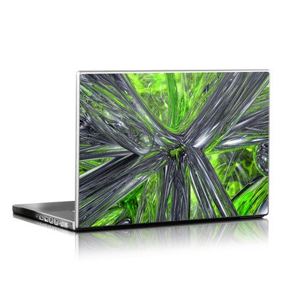 Laptop Skin - Emerald Abstract