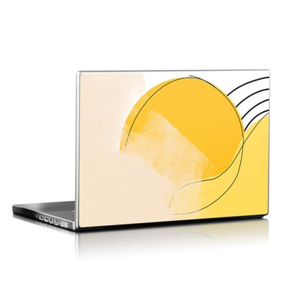 Laptop Skin - Abstract Yellow
