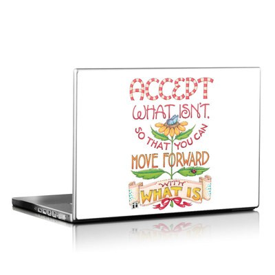 Laptop Skin - Accept What Isn't