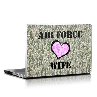 Laptop Skin - Air Force Wife