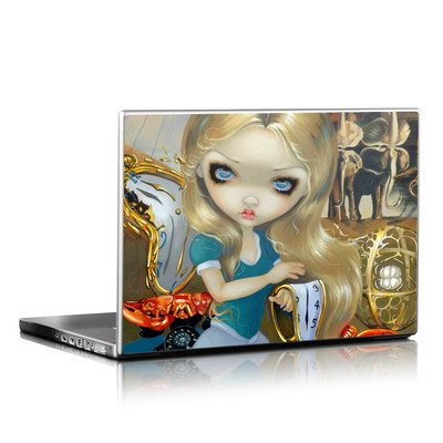 Laptop Skin - Alice in a Dali Dream