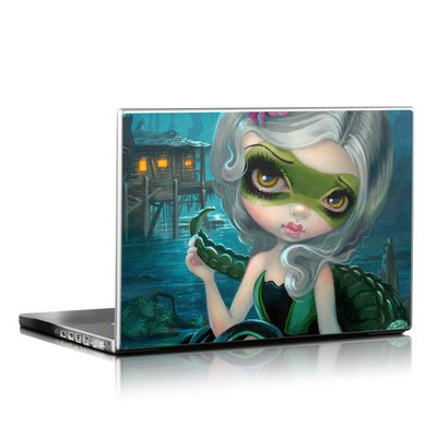 Laptop Skin - Alligator Girl