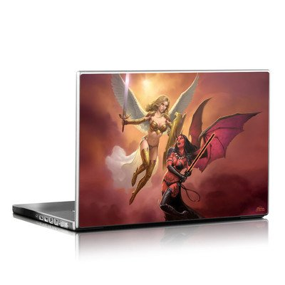 Laptop Skin - Angel vs Demon
