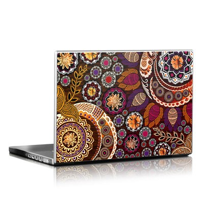 Laptop Skin - Autumn Mehndi
