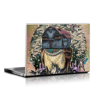 Laptop Skin - Barn Owl Fortune