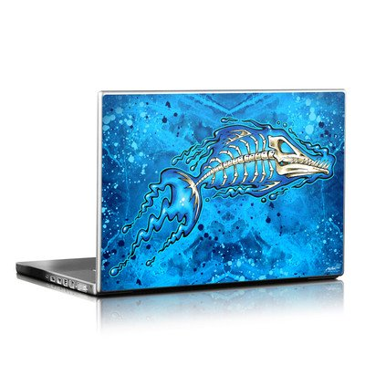 Laptop Skin - Barracuda Bones
