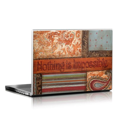 Laptop Skin - Be Inspired