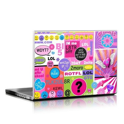 Laptop Skin - BFF Girl Talk