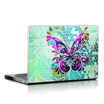 Laptop Skin - Butterfly Glass