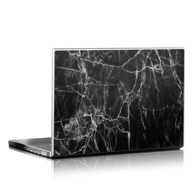 Laptop Skin - Black Marble