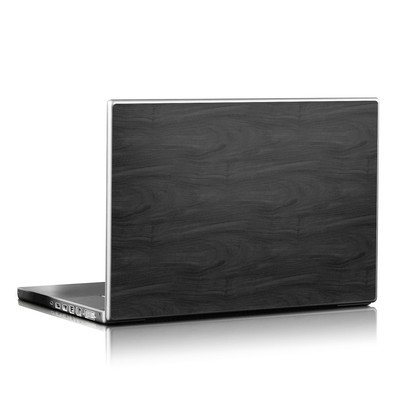 Laptop Skin - Black Woodgrain