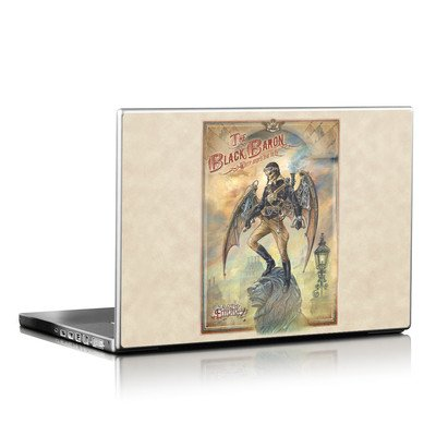 Laptop Skin - The Black Baron