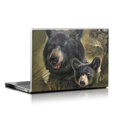 Laptop Skin - Black Bears
