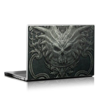 Laptop Skin - Black Book