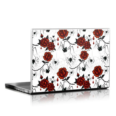Laptop Skin - Black Widows