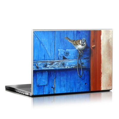 Laptop Skin - Blue Door