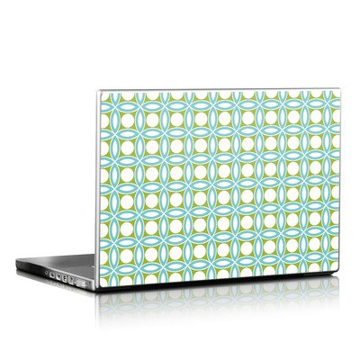 Laptop Skin - Blue Geo