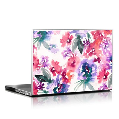 Laptop Skin - Blurred Flowers