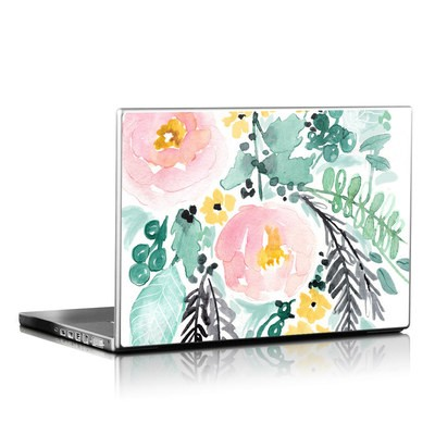 Laptop Skin - Blushed Flowers