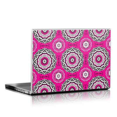 Laptop Skin - Boho Girl Medallions
